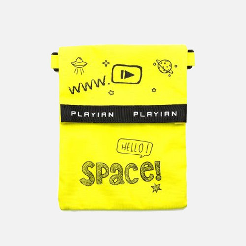 백스테이PLAYIAN U.F.O MINI CROSS BAG 플레이언 U.F.O 미니크로스백-NEON YELLOW